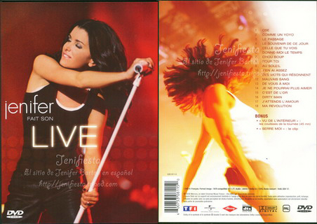 Jenifer - Fait son live DVD