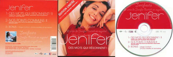 Jenifer - Single Des mots qui resonnent !