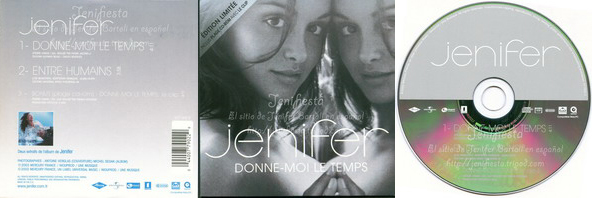 Jenifer - Single Donne-moi le temps