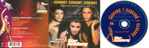 Jenifer - Single Star Academy Gimme! Gimme! Gimme!